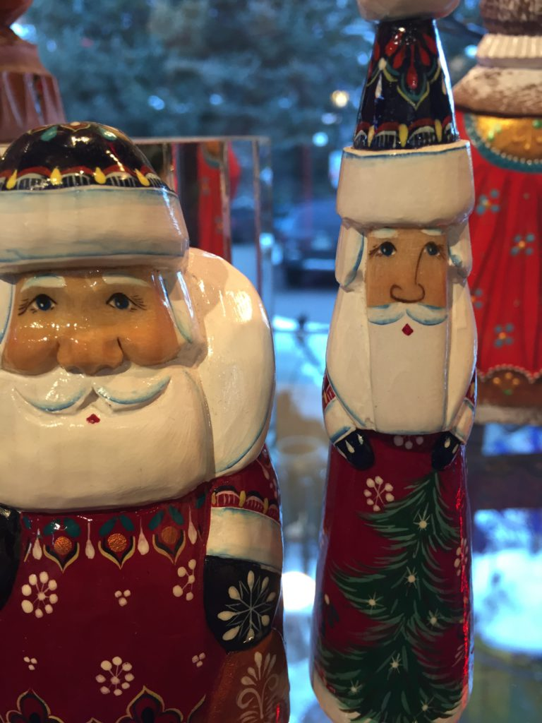christmas store vail colorado hand made santas ornaments decorations