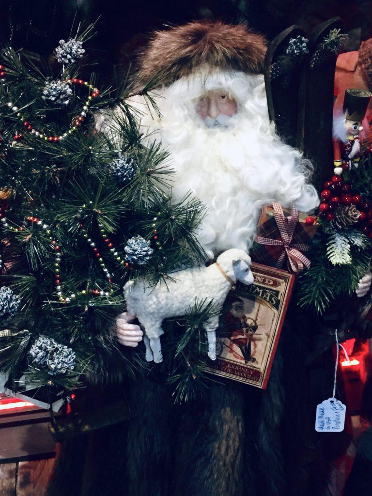 beaver Fur Father christmas santa